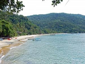 Brasilien | Ilha Grande, Einsame Strände gibt es etliche, auch wenn sie häufig nur per Wassertaxi erreichbar sind
