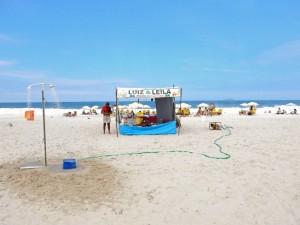 Brasilien | Rio de Janeiro, Caipirinha-Buden findet man an der Copacana an jeder Ecke wie dieser provisorische Aufbau direkt am Strand