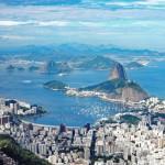 Brasilien | Rio de Janeiro, Traum-Ausblick vom Corcovado auf den glockenförmigen Zuckerhut
