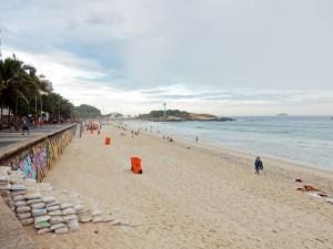 Rio de Janeiro | Strände: Promenade und Strand von Ipanema