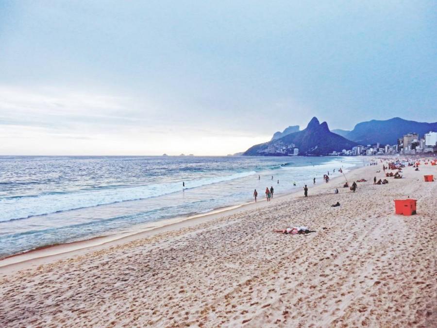 Rio de Janeiro | Strände: Am Strand von Ipanema geht es etwas stilvoller zu als an der Copacabana