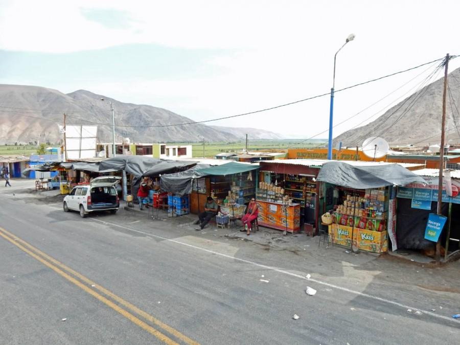 Peru | Typische Verkaufsstände im Andenhochland
