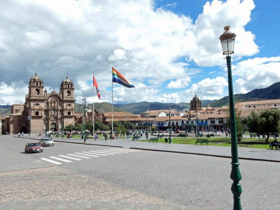 Peru | Plaza de Armas in Cusco. Blick auf den Hauptplatz in Cusco