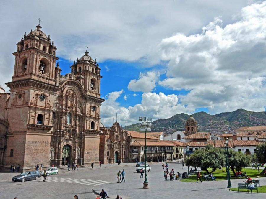Peru | Iglesia Compania Jesus am Plaza de Armas in Cusco
