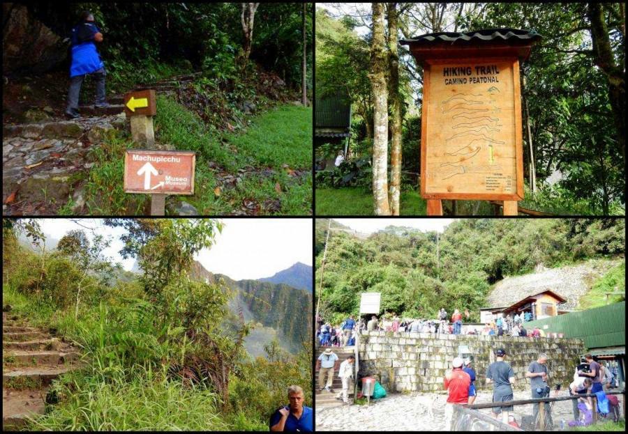 Peru | Machu Picchu, Eindrücke vom Aufstieg von Aguas Calientes zum Machu Picchu Eingang