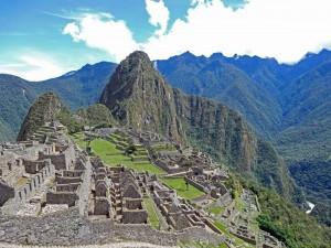 Peru | Machu Picchu, Klassiker Foto wie man die Inka-Stadt kennt aus Sicht des Panoramapunktes für Fotos