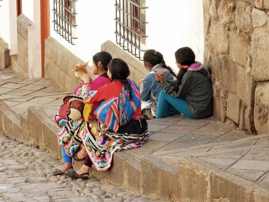 Peru | Typische Frauen | Mädchen in Cusco