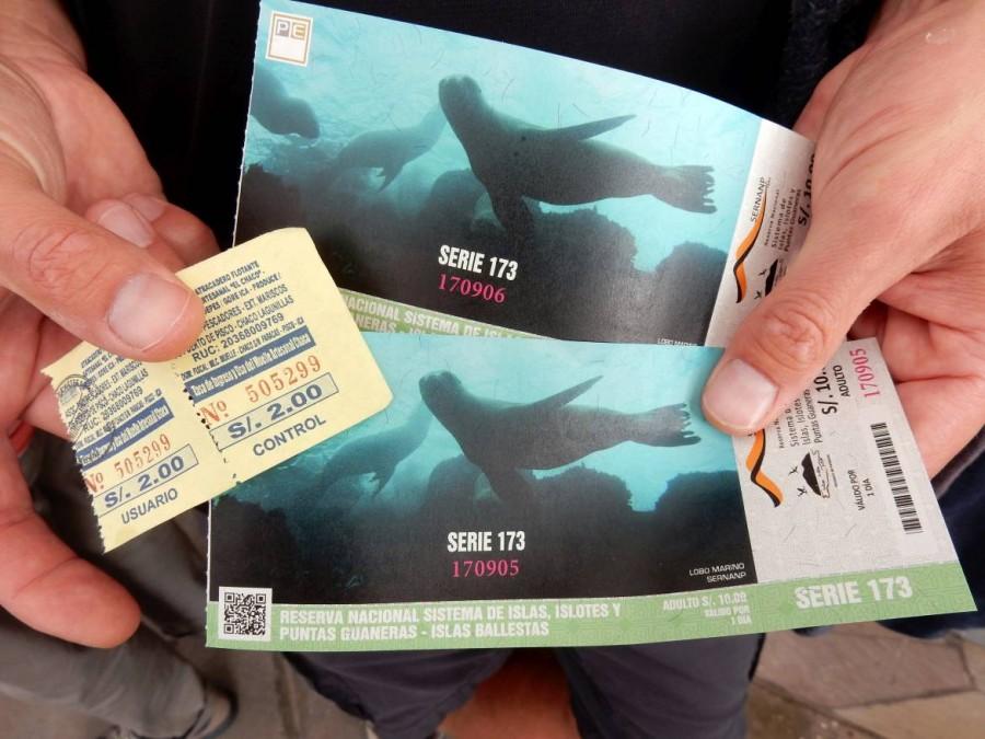 Peru | Paracas, Islas Ballestas Tour, Tickets