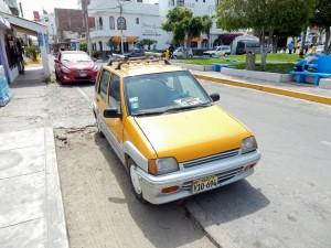 Peru | Unser Gelbes Taxi auf dem Weg von Ica nach Paracas