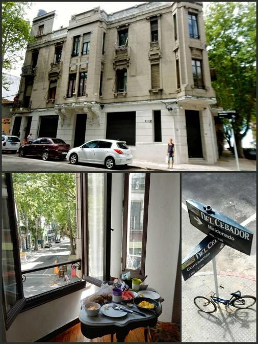 Uruguay | Montevideo, unser hübsches Altbau-Appartement mit tollem Ausblick in eine grüne Allee