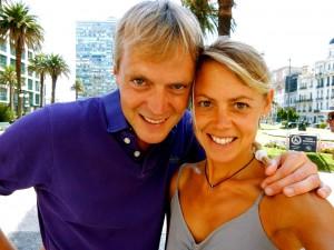 Uruguay | Montevideo im Sommer mit Karin und Henning am Plaza Independencia