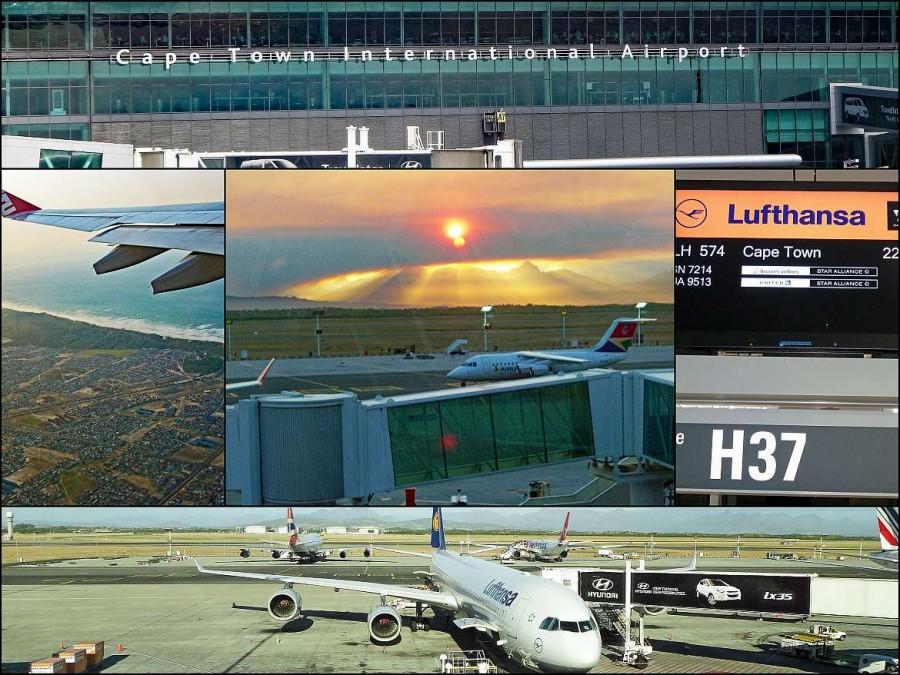 Südafrika | Kapstadt, Eindrücke am Flughafen bei Anreise über den Flughafen Kapstadt