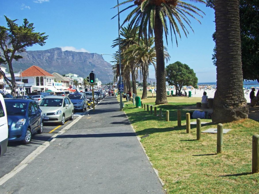 Südafrika | Kapstadt, Camps Bay Strandpromenade