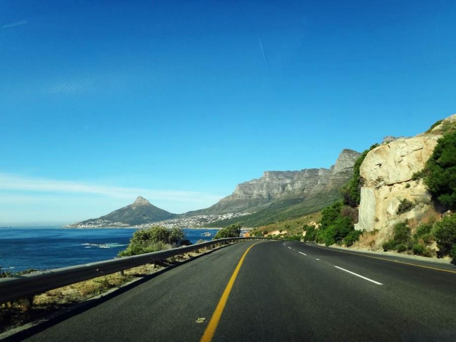 Südafrika | Kap-Halbinsel, Straße von Camps Bay über Clifton nach Kapstadt