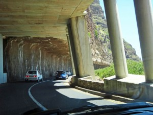 Südafrika | Kapstadt, Kap-Halbinsel, Tunnel des Chapmans Peak Drive