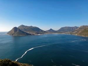Südafrika | Kapstadt, Kap-Halbinsel, Chapmans Peak Panorama auf die Küstenstraße Richtung Hout Bay