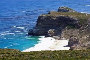 Südafrika | Kapstadt, Kap-Halbinsel, Panorama auf den Dias Beach vom Cape Point