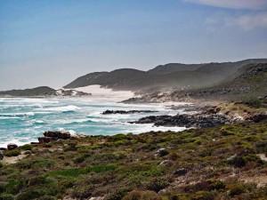 Südafrika | Kapstadt, Kap-Halbinsel, Blick vom Kap der Guten Hoffnung Richtung Plattboom Beach