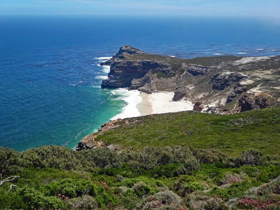 Südafrika | Kapstadt, Kap-Halbinsel, Dias Beach und Kap der Guten Hoffnung im National Park. Blick auf die Küste und das Meer