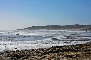 Südafrika | Kapstadt, Kap-Halbinsel, Panorama am Kap der Guten Hoffnung auf das tosende Meer