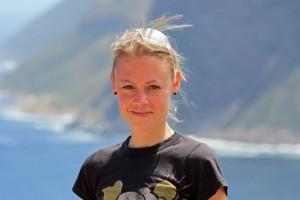 Südafrika | Kapstadt, Kap-Halbinsel, Karin tiefen-entspannt in Nahaufnahme