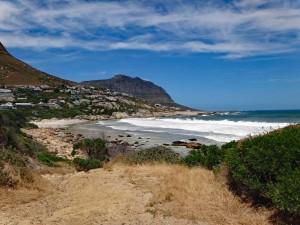 Südafrika | Kapstadt, Kap-Halbinsel, Llandudno Beach Panorama der Bucht bei der Wanderung
