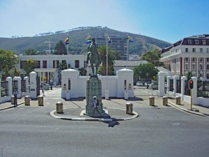 Südafrika | Kapstadt, Einfahrt zum Parlament