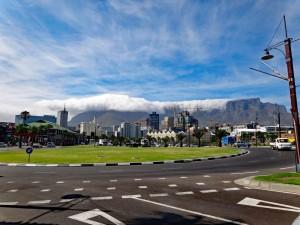 Südafrika | Kapstadt, Das berühmte Tischtuch auf dem Tafelberg