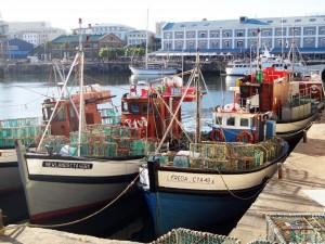 Südafrika | Kapstadt, Fischerboote im Hafen in der V&A Waterfront