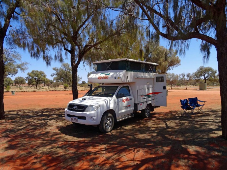 Australien | Camping im Outback, wild Camping erlaubt