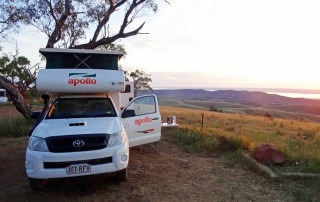 Australien | Camping im Outback auf dem Hancocks Lookout. Der Campingplatz unserer ersten Nacht im australischen Outback in der Nähe von Adelaide