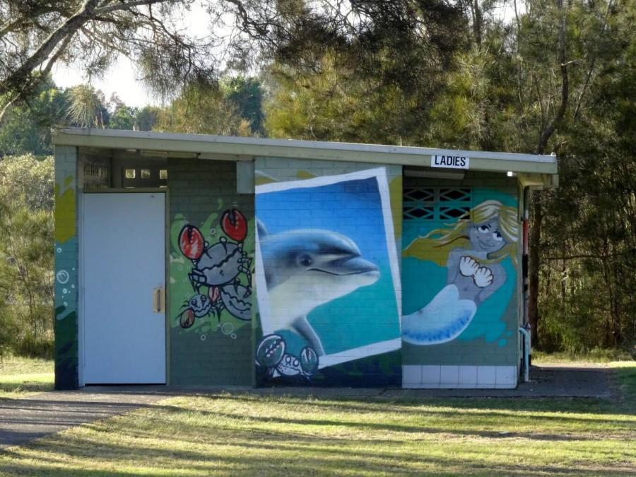 Australien | Camping, öffentliche Toilette