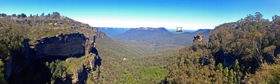 Australien | Blue Mountains mit Panorama auf die Three Sisters in New South Wales
