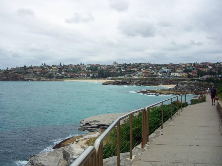 Australien | Sydney, Bondi Beach Costal Walk. Panorama des Wanderweges entlang der Küste