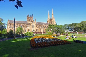 Australien | Sydney, Saint Marys Cathedral, Kathedrale im Central Business District