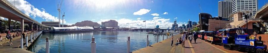 Australien | Sydney, Panorama von Darling Harbour