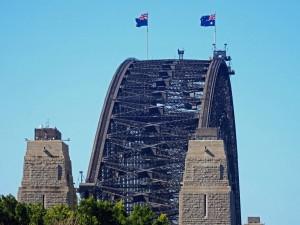 Australien | Sydney, Harbour Bridge Nahaufnahme