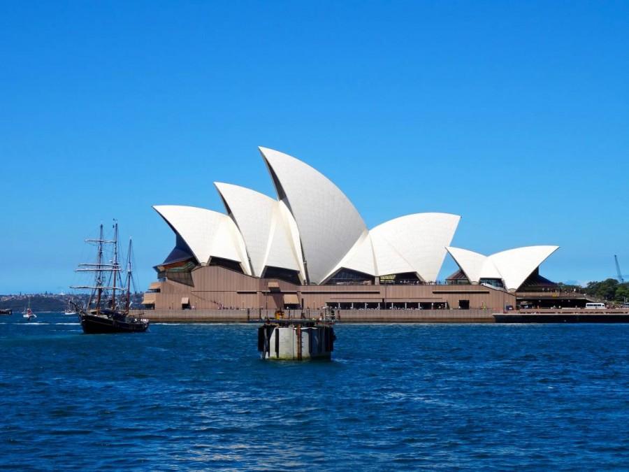 Australien | Sydney, Oper in Nahaufnahme