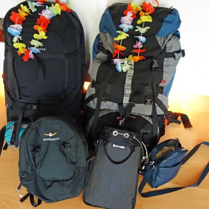 Packliste inklusive Checkliste | Rucksack, Daypack & Pacsafe für den Urlaub