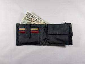 Reisesicherheit | Portemonnaie mit Banknoten und Karten