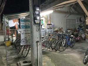 Thailand |Fahrradverleih auf der Insel Koh Phangan. Blick auf verschiedene Fahrräder