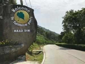 Thailand | Koh Phangan, Straße nach Haad Rin, dem Ort der Fullmoon Parties