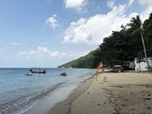 Thailand |Koh Phangan, Bucht Haad Rin Nai, besonders zum Sonnenuntergang ein absolutes Highlight