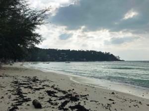 Thailand |Koh Phangan, Blick Richtung Süden auf die Bucht des Haad Salad Strand