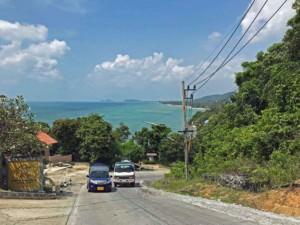 Thailand |Koh Phangan, Küstenstraße von Han Rin nach Bantai