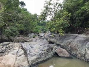 Thailand |Sehenswürdigkeiten auf Koh Phangan, Than Sadet Saampan Wasserfall zur Regenzeit