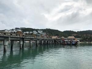 Thailand | Bangrak Pier, der Fähranleger von Seatran Discovery auf Koh Samui