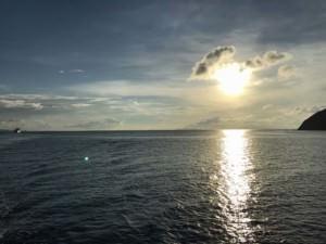 Thailand |Sonnenuntergang auf der Fähre von Koh Samui nach Koh Phangan