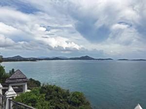 Thailand |Koh Samui, Panorama am Lad Koh View Point. Blick über das Meer