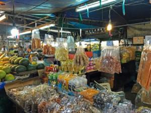 Thailand |Krabi Fresh Food Market, Markt mit frischen Waren in Krabi Town